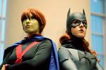 Red-headed Superheroines