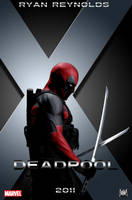 Deadpool Movie Poster by LittleOrphanAwesome