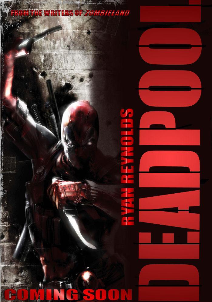 Deadpool Movie Poster 2014 Deadpool movie poster 2 by