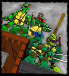 TMNT by Eastman and Laird