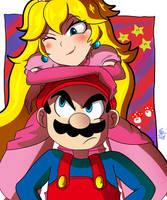 Super Mario armrest. by CronoCain