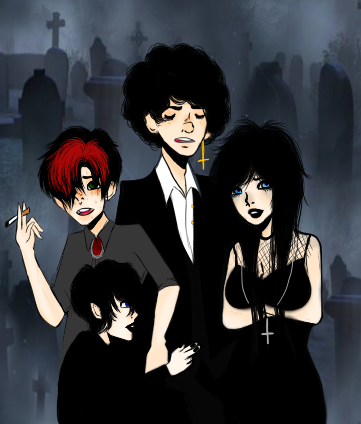 We're freaking Goth! by sickali
