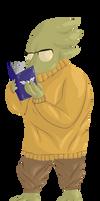 Library Lizard NPC by Istisah