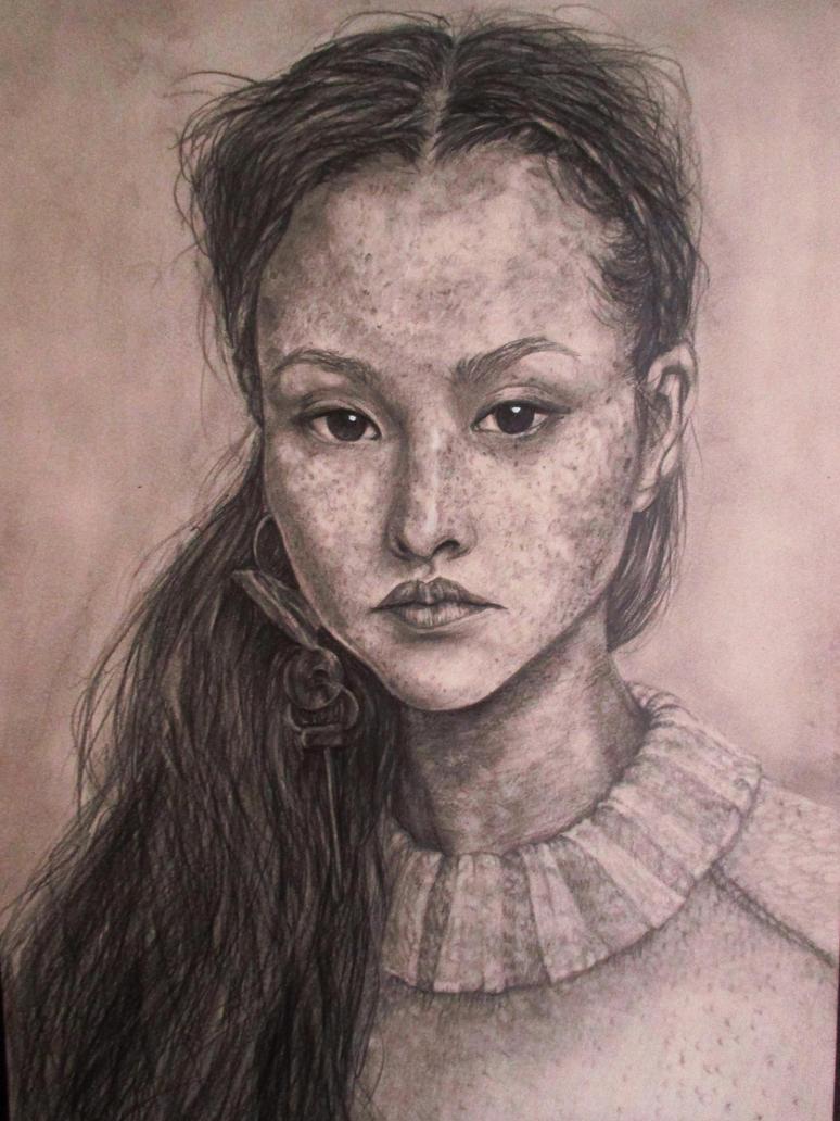 Portrait practice by BlackAnda