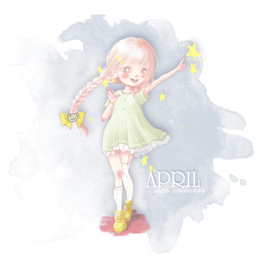 april, the star collector by talesofescapism