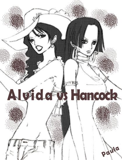 Alvida vs Hancock by Paula-Ane