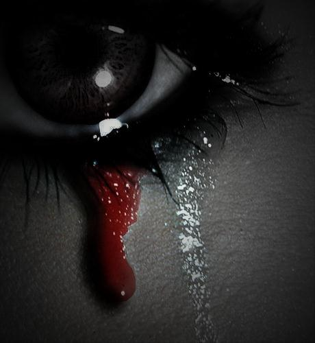 Crying Blood By Sapphire-Rose15 On DeviantArt