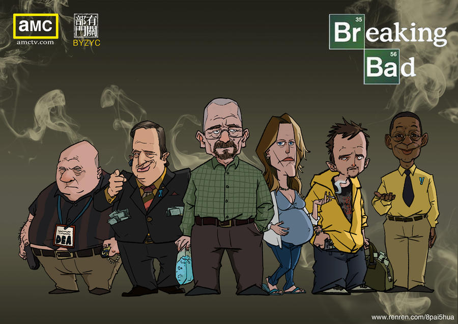 BREAKING BAD by cent555 on DeviantArt