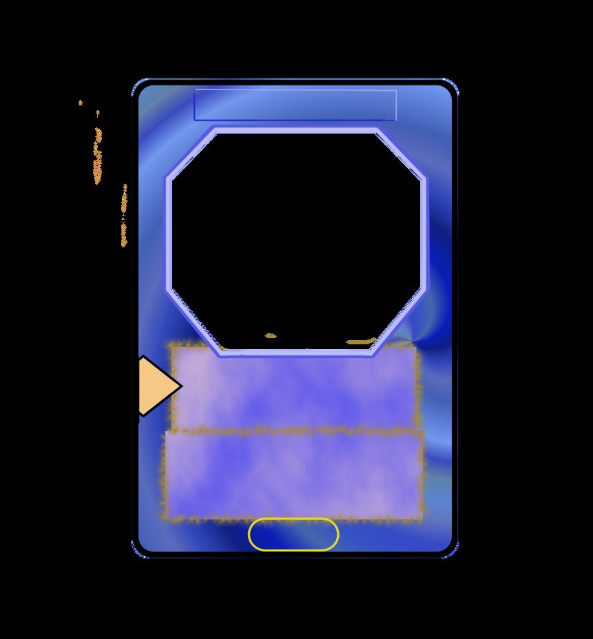 card template battle by yu gi oh duelist on deviantart. Black Bedroom Furniture Sets. Home Design Ideas