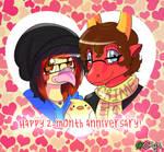 Happy 2-month anniversary!