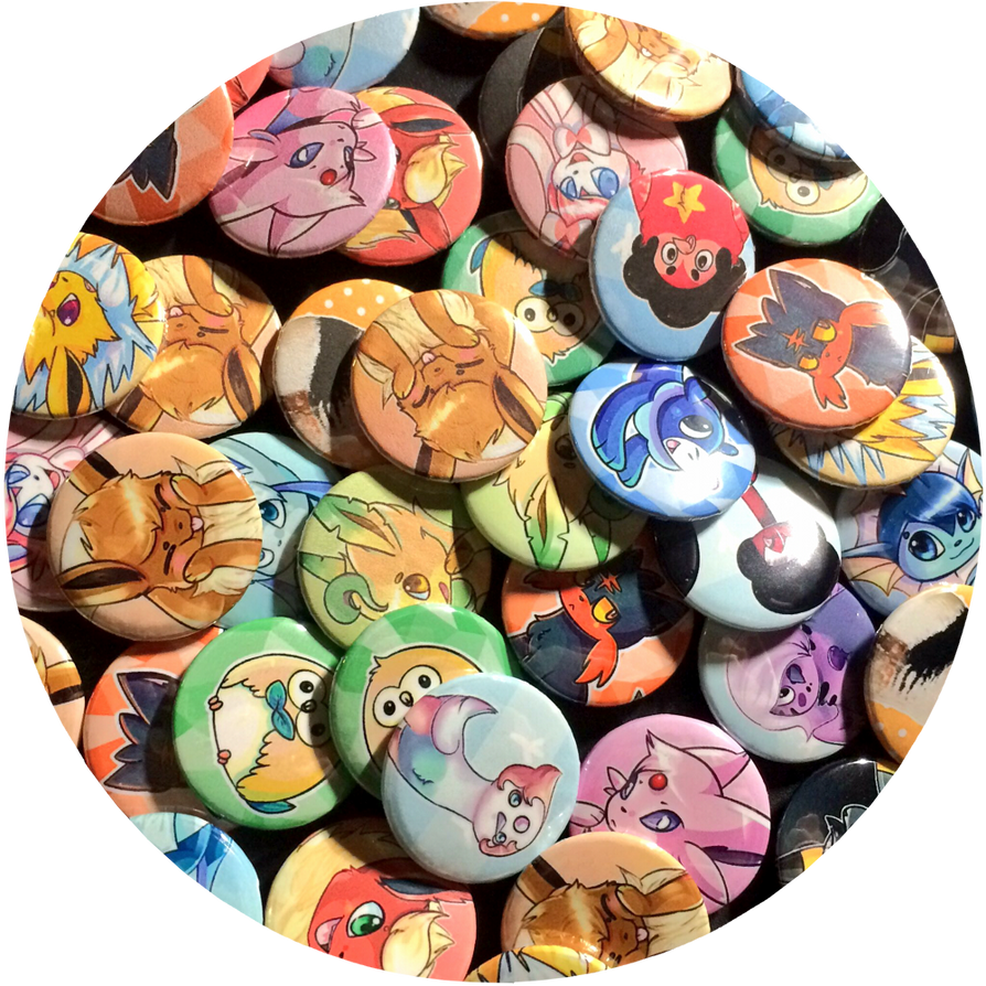 Buttons/magnets! 50 :points: / $0.50 each! by Skoryx