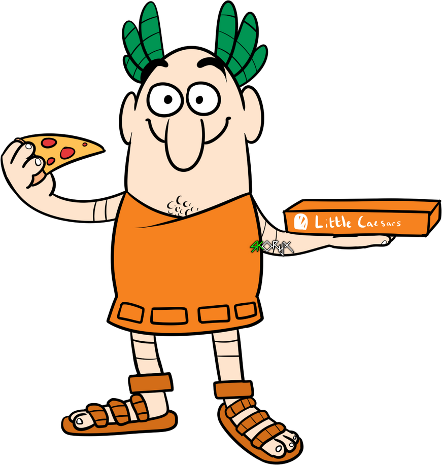 Little caesars by skoryx on deviantart for Little caesars coloring pages