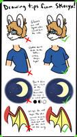 Drawing tips from Skoryx by Skoryx