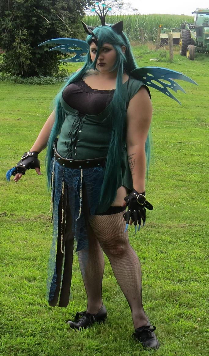 Queen Chrysalis Cosplay by DreamMistressTasha