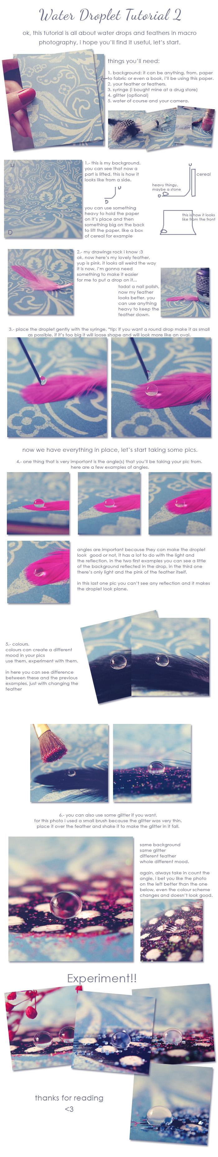 water droplet tutorial 2 by unread-story