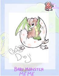 MYM Baby Monster Meme: Dioji by WhiteWolfIris