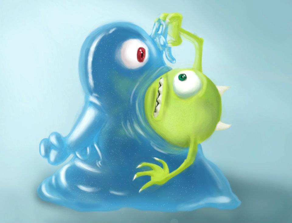 Monster inc VS Monster Vs Aliens by kdosanjh on DeviantArt