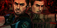 chris redfield + piers nivans by aitsena