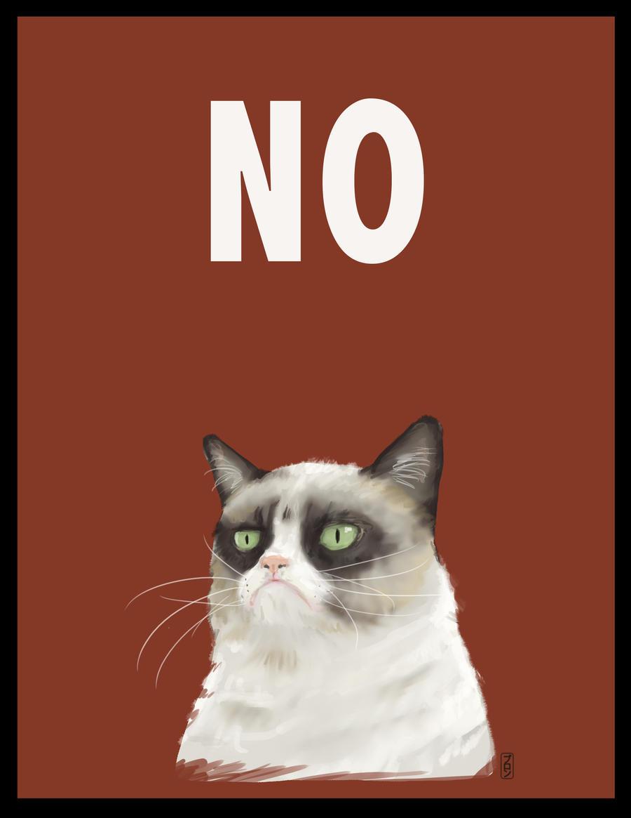 No Grumpy Cat by Batwynn on DeviantArt