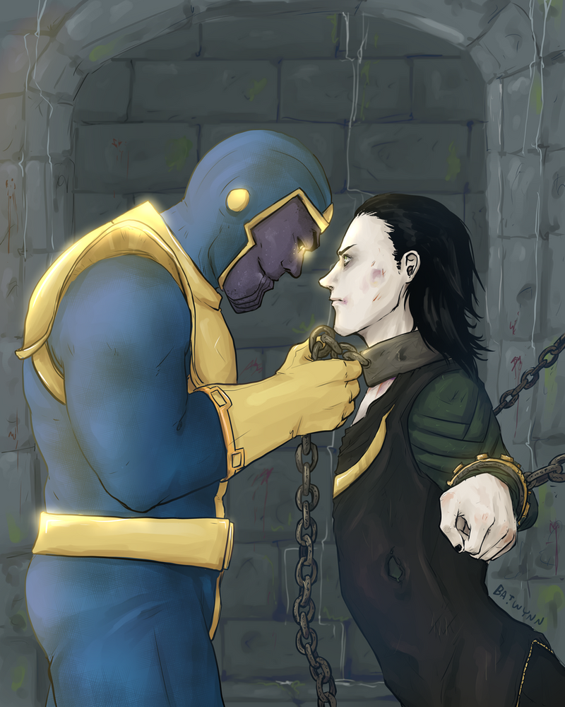 Loki Captured By Batwynn On DeviantArt