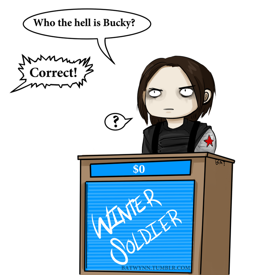 Who the Hell is Bucky by Batwynn