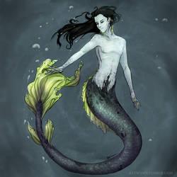 Merloki for Rin by Batwynn