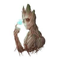 Groot by Batwynn