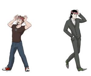 Loki X Tony