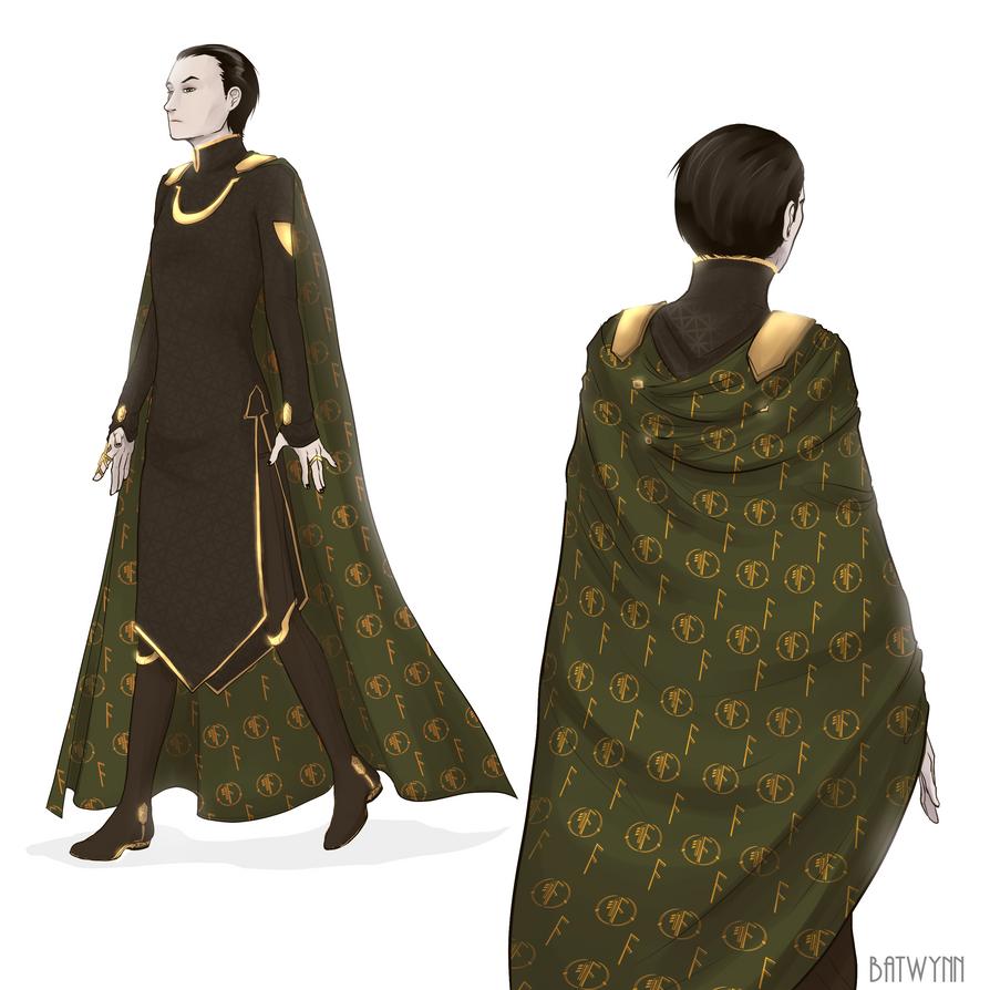 Cloak Design by Batwynn on DeviantArt