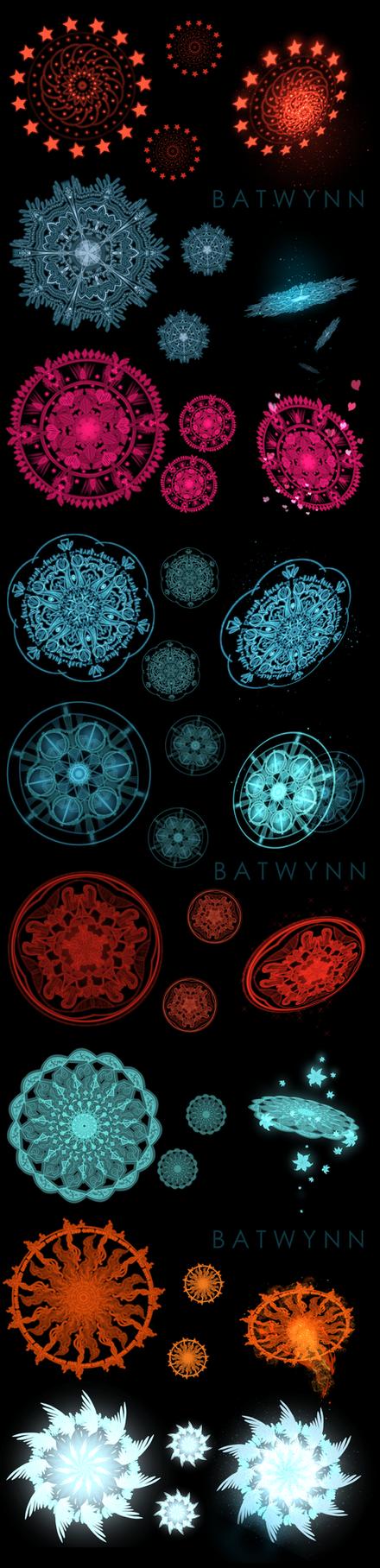 Magic Circle Brush/Effect by Batwynn