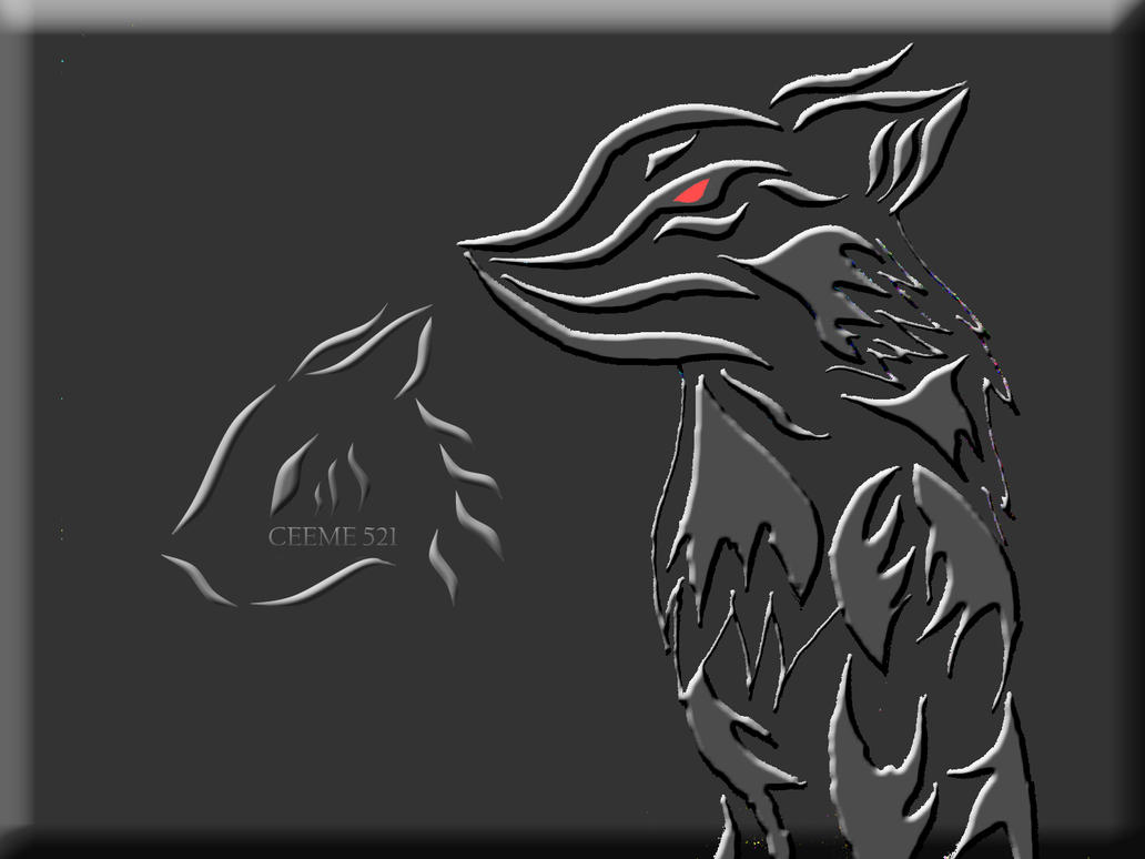 Anthro Wolf Wallpaper my Design Logo Anthro Wolf by
