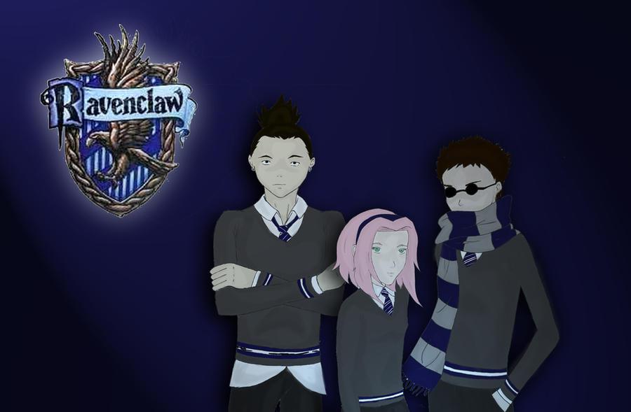 Naruto - Ravenclaw by Pinja64