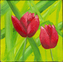 806719 Tulips in the Green by v-e-y-a