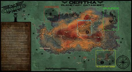Oertha - Warhammer 40k map