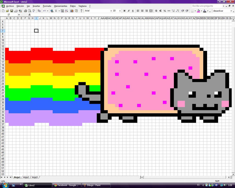 Nyancat Excel By Vale Hina Chan On Deviantart
