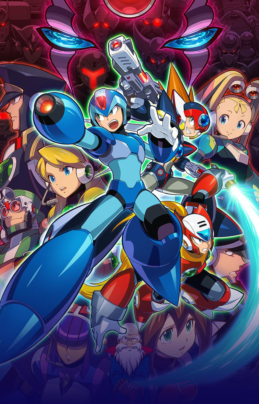 Megaman X Legacy Wallpaper 3 By Falconburst322 On Deviantart