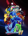 Megaman11 wallpaper