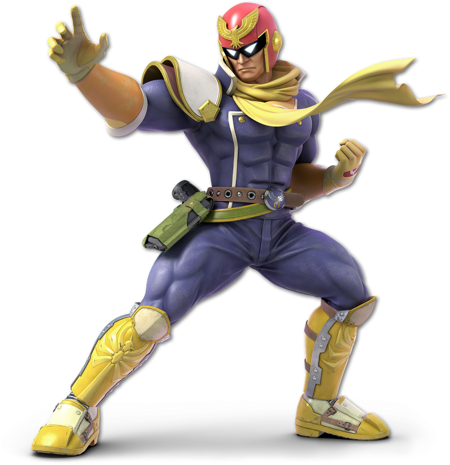 Super Smash Bros Ultimate render #11: Capt. Falcon by ...