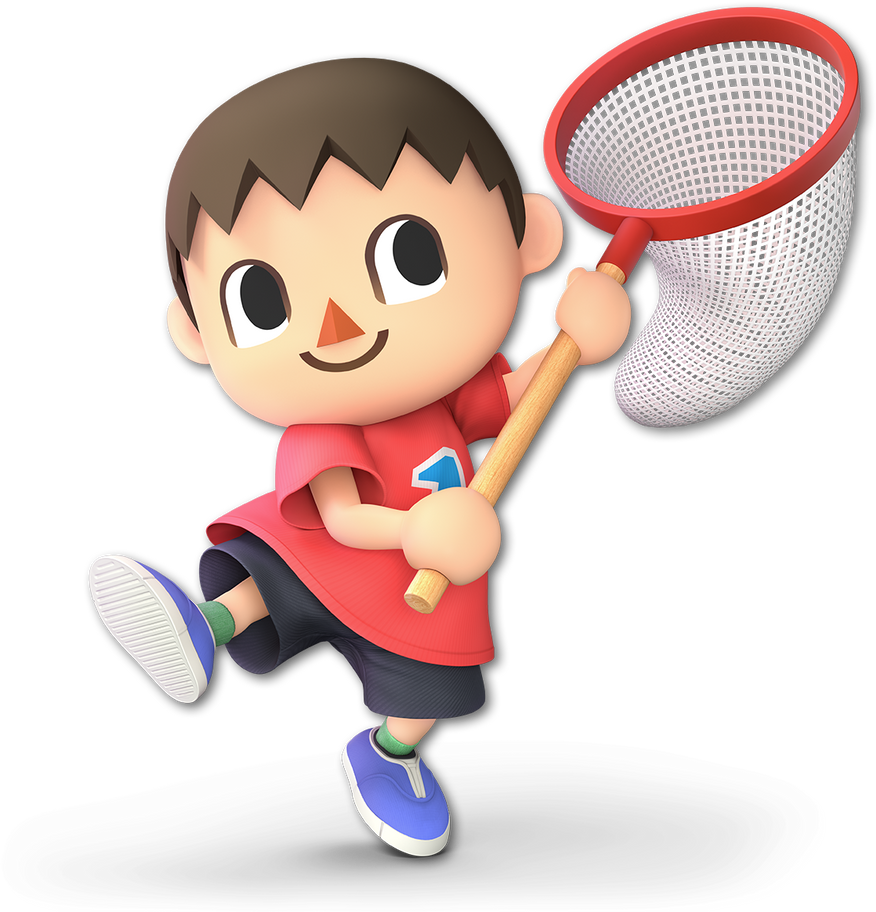 Super Smash Bros Ultimate render #46: Villager by falconburst322