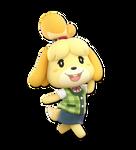 Super Smash bros Ultimate Render #70: Isabelle