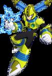 Megaman 11 Fuse Man render
