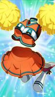 MHA  Smash Tap: Cheerleading Toru by falconburst322
