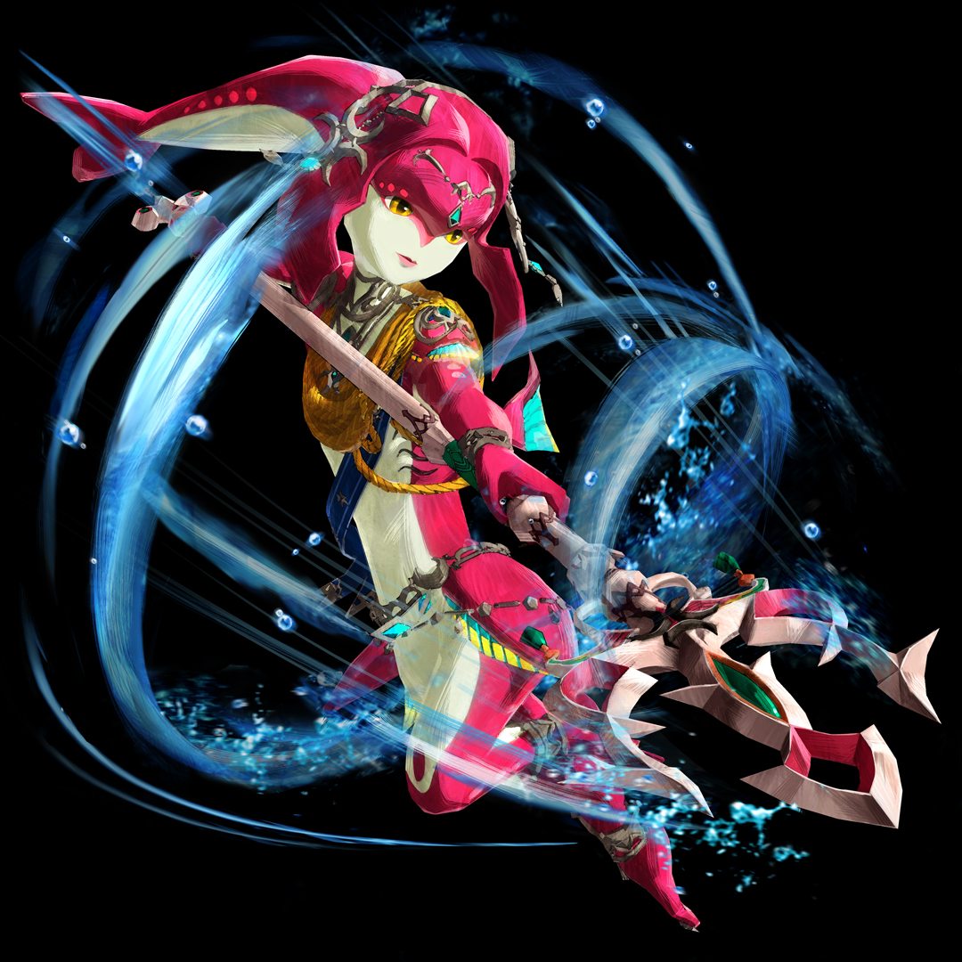 Hyrule Warriors Age Of Calamity Mipha Render By Falconburst322 On Deviantart