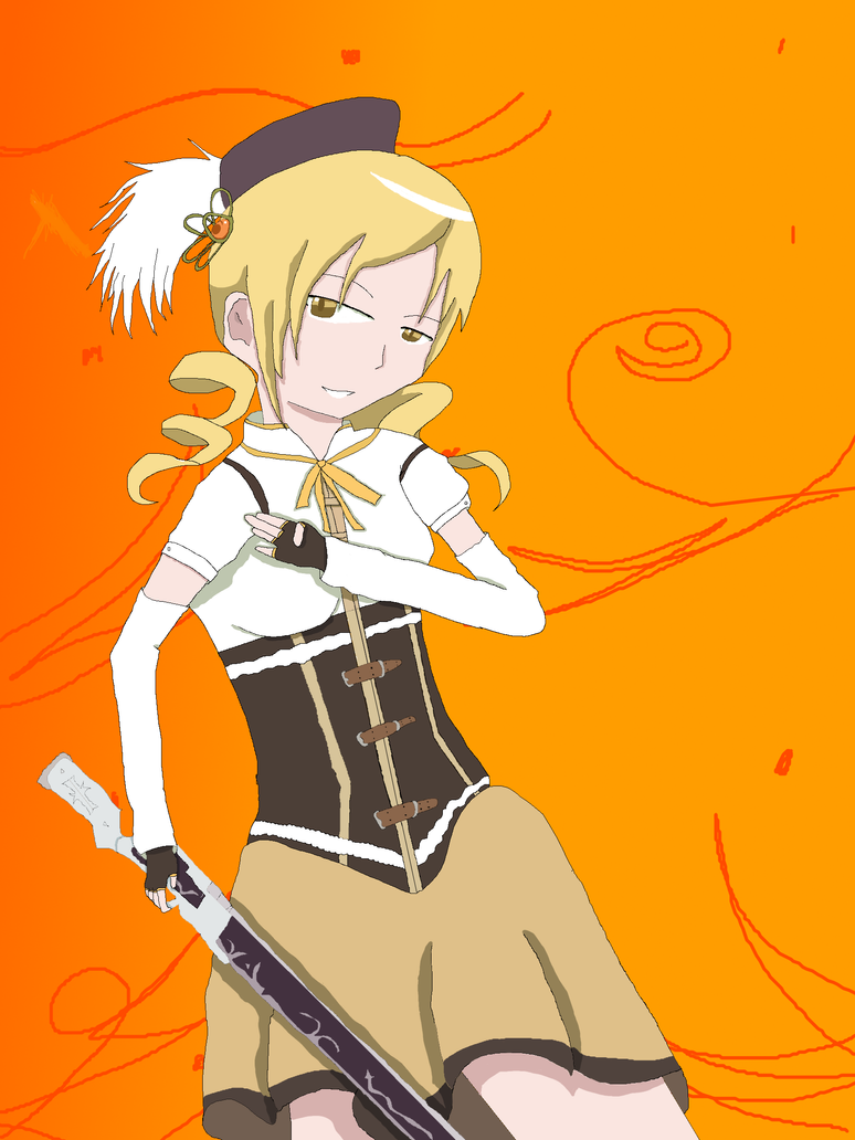 Art Trade: Mami Tomoe by aurahunter