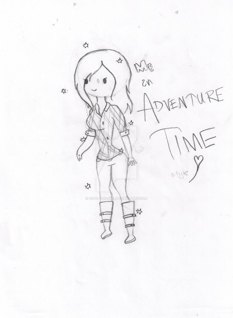 me adventure time style by cooltdigirl on deviantart