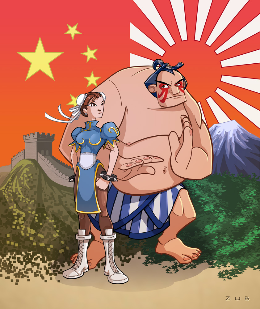 Street Fighter: The Animated Series? Could be thanks to *Zubby