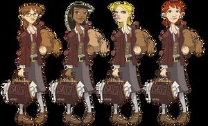 Zork- Female Hero 1 Designs