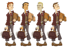 Zork- Male Hero 1 Designs by Zubby