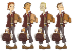 Zork- Male Hero 1 Designs