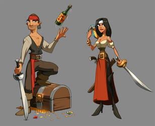 Zork- Pirates